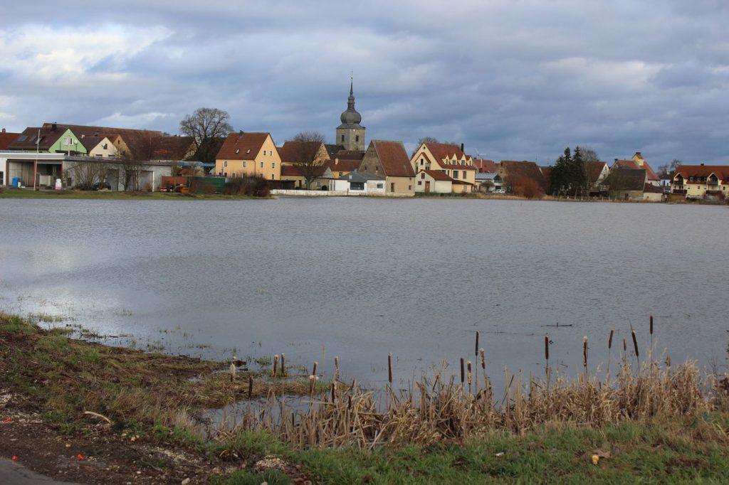 Uehlfeld - Hochwassergebiet!